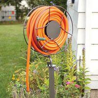 standing hose reel