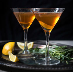 tarragon-infused-bourbon